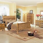 Brown Wicker Bedroom Furniture