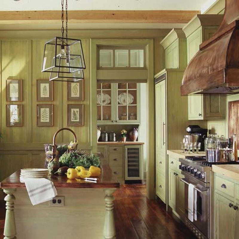Country Kitchen Colour Schemes