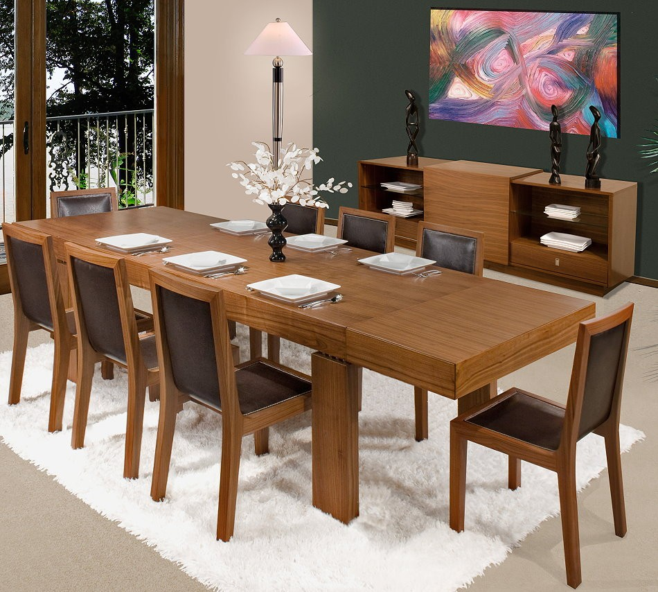 Expandable Buffet Dining Table