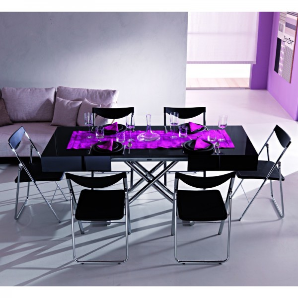 Expandable Coffee Table To Dining Table