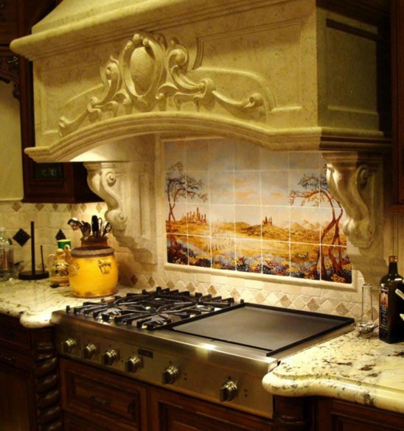 Kitchen Tile Backsplash Design