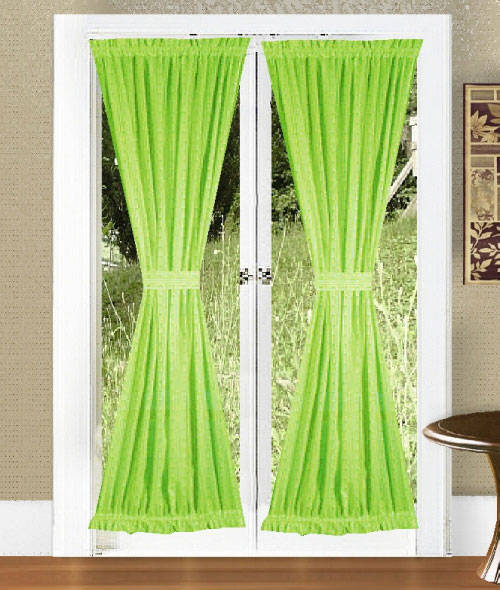 Lime Green Curtains for Kids