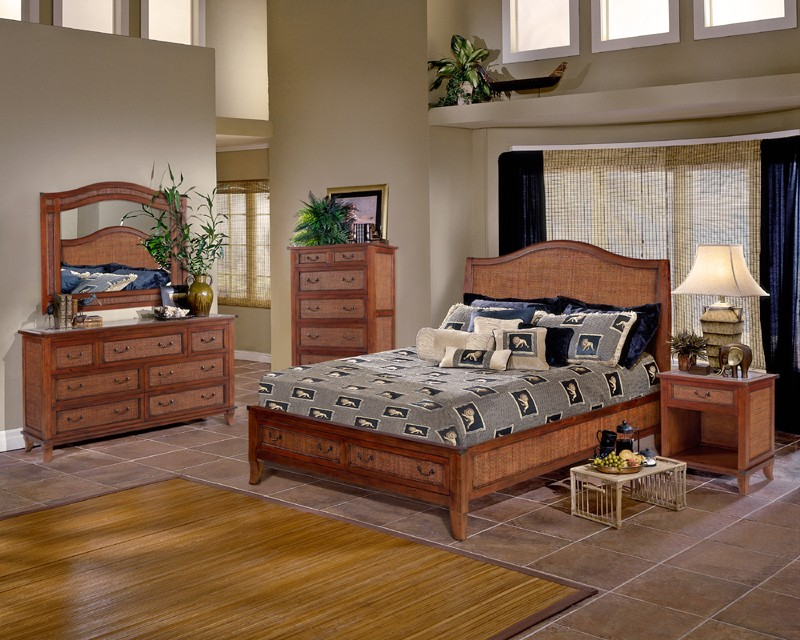 Rattan And Wicker Bedroom Furniture