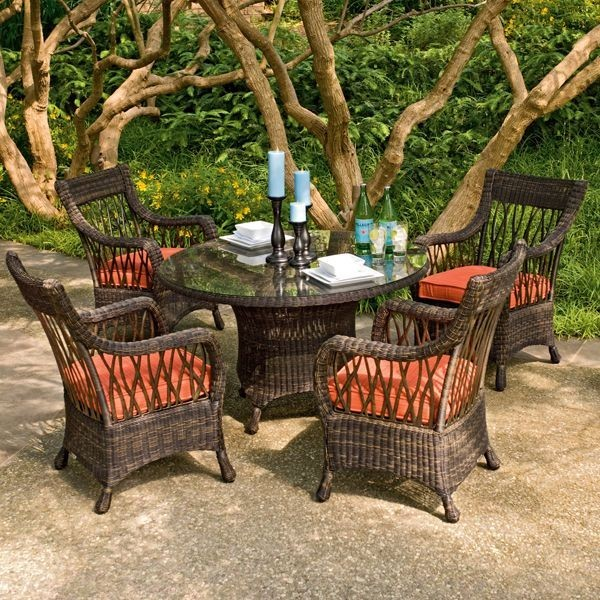 Rattan Wicker Dining Chairs