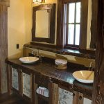 Rustic Bathroom Cabinets Vanities