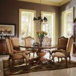 Solid Wood Round Pedestal Dining Table
