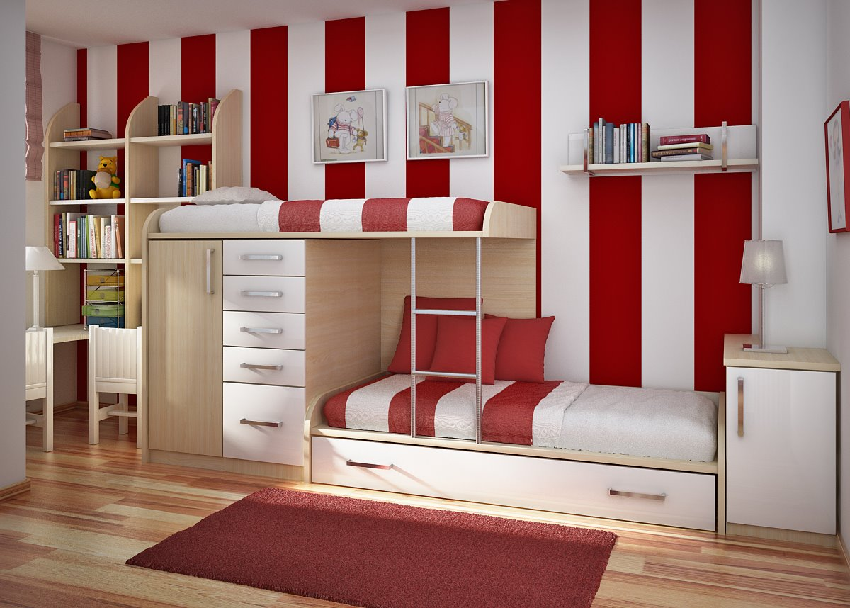 Teenage Kids Bedroom Furniture