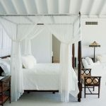 White Canopy Bedroom Set