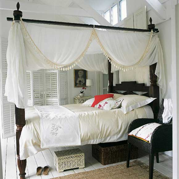 Beds With Canopy Curtains