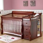 Cherry Changing Table Dresser