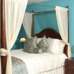 Cotton Canopy Bed Curtains