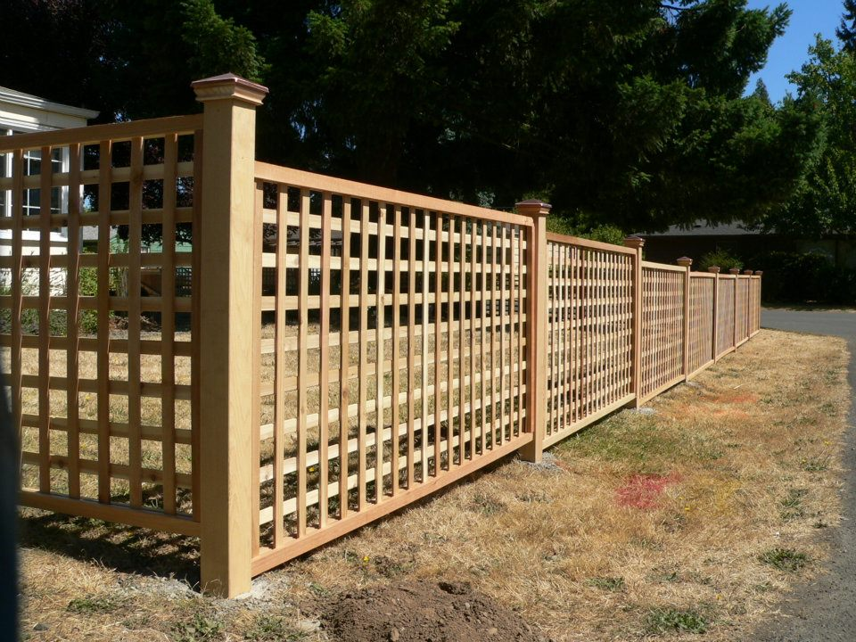 Decorative Picket Fence Panels