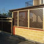 Decorative Wooden Fence Panels