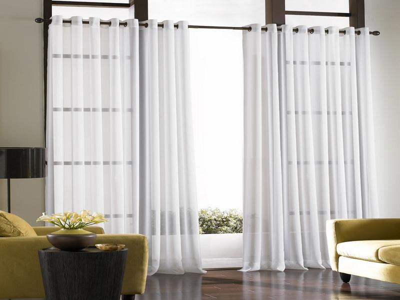 Heavy Curtain Room Divider