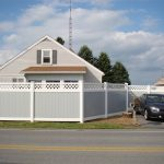 Mobil Mawhite Vinyl Privacy Fence Panel