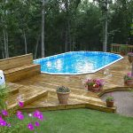 Oval Above Ground Swimming Pools
