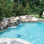 Swimming Pool Designs With Waterfalls