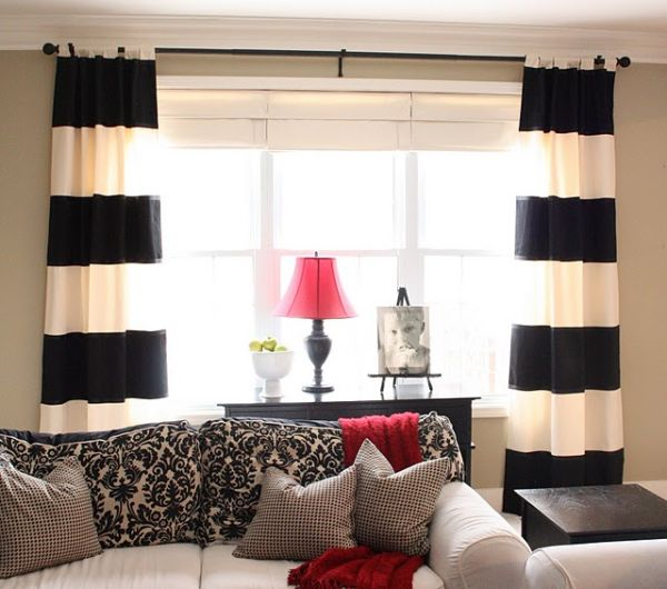 Curtain Room Dividers for the Living Room and Bedroom