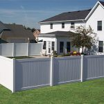 White Vinyl Gates For Fences