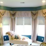 bay window curtain rods