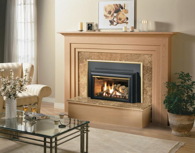 An Ethanol Fireplace Insert for a Modern Home