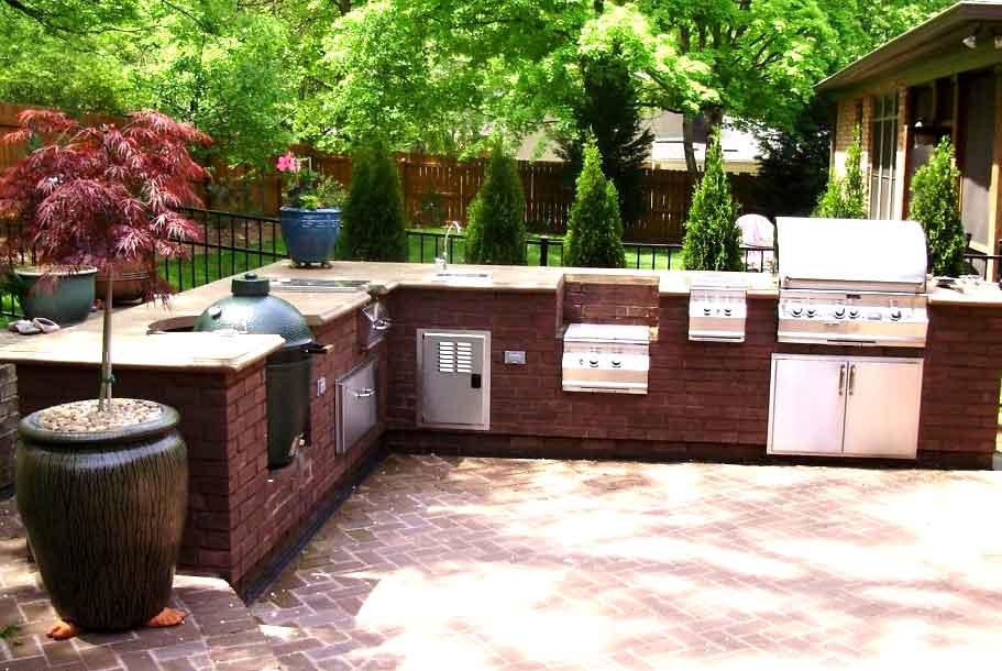 Great Outdoor Kitchen Plans and Designs