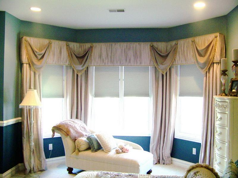 Bay Window Treatments Pictures