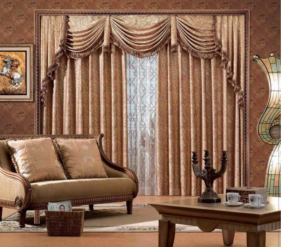 Brilliant Living Room Curtain Ideas
