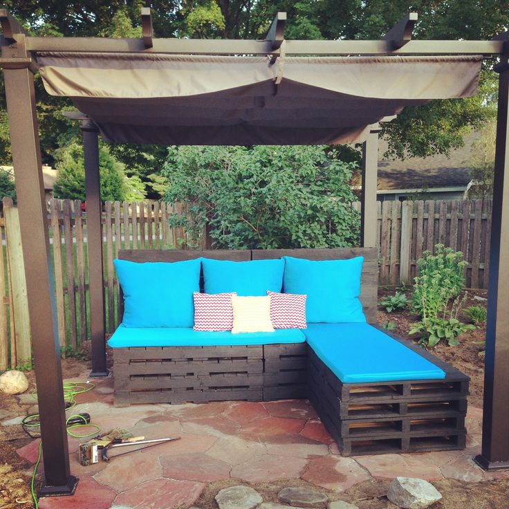 Pallet Patio Furniture A Creative Mom