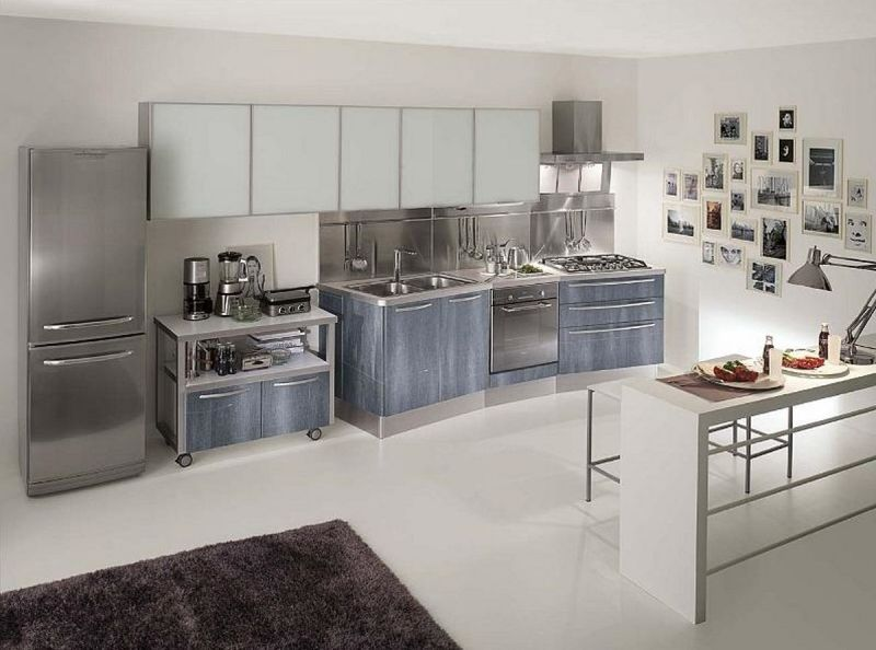 Stainless Steel Kitchen Units