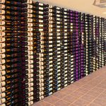 Huge Wall Mounted Wine Storage Rack