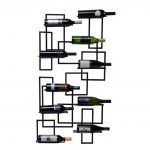 Wall Mounted Wine Storage Rack