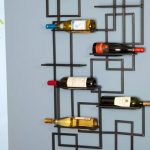 artistic metal wine racks