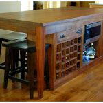 Awesome Kitchen Island With Seating And Wine Rack