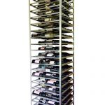 corner wine racks metal