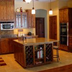 Kitchen Island And Wine Rack