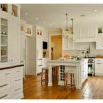 kitchen island with storage and wine rack