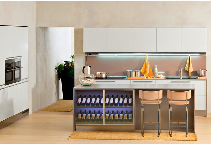 Ideas for a Kitchen Island with Wine Rack