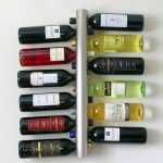 Wall Mount Wine Glass Rack Vertical