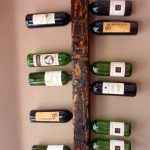 Wall Mounted Wine Rack Display