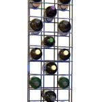 wine glass racks metal