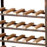 wine racks metal and wood