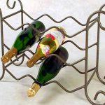 wine racks metal decorative