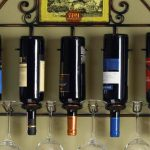 wine racks metal wall mounted