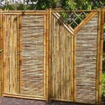 bamboo fence posts