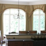 Bay Window Curtain Treatment Ideas