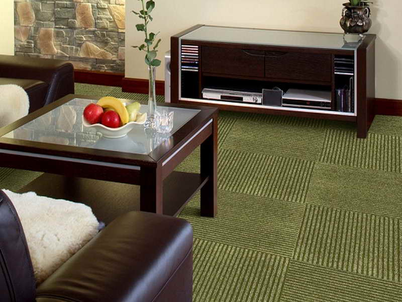 carpet tile basement from user submitted