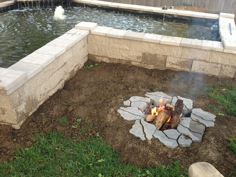 In Ground Fire Pit Designs A Creative Mom