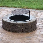 in ground fire pit plans