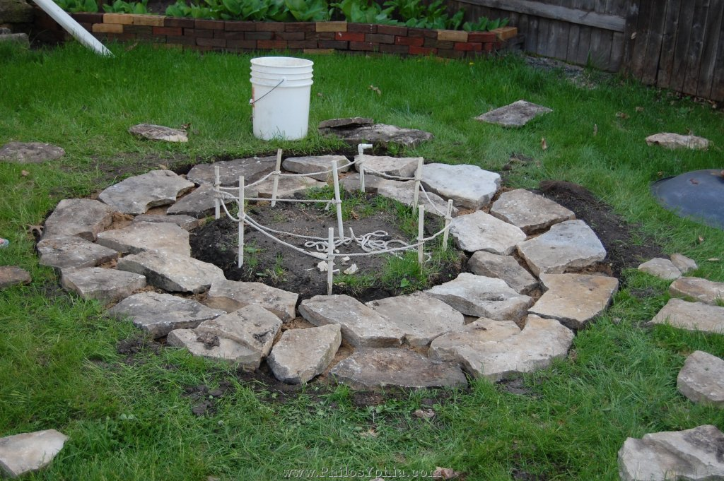 Inground Fire Pit With Seating